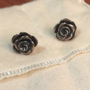 Rose Blossom Ear Posts